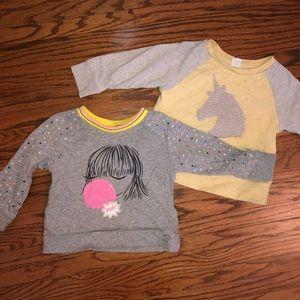 Gap 2t Sweatshirt Bundle